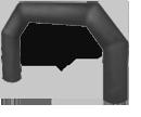 Надувная двухопорная арка. Изготовление различных форм. Срок 4 дня! www.НадувныеФигуры.РФ Иркутск
